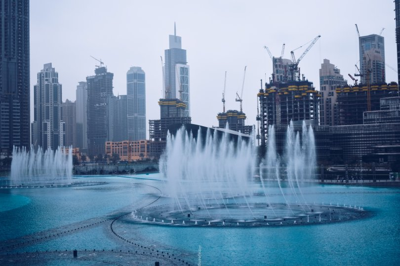 places worth seeing in Dubai -dancing fountain