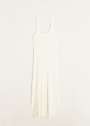 spring edit mango essential range- ribbed dress