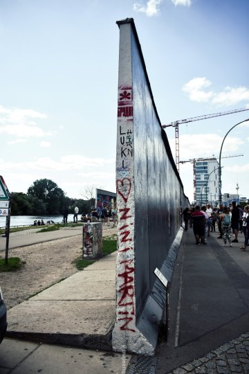 what I did in Berlin for 48 hours- split Berlin wall
