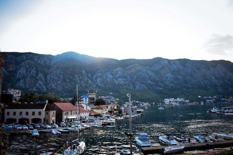 how montenegro surprised me- Kotor marina
