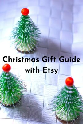 Christmas gift guide with Etsy on majeang.com