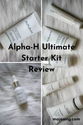 ultimate starter kit from Alpha-H review