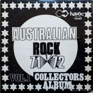 Havoc - Australian Rock 71-72 - BST001 - Front cover