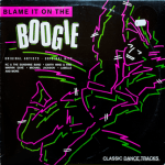 CBS -  Blame it on the Boogie - CSP264 - Front cover