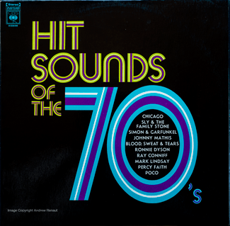 Hot Sounds of the 70s front cover