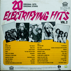 Majestic - Electrifying Hits 2 - TA241 - Back cover