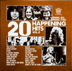 Majestic - Happening Hits 2 - TA242 - Front cover