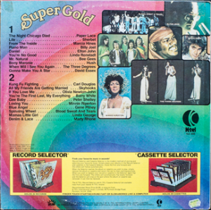 Ktel - Super Gold - NA488 - Back cover