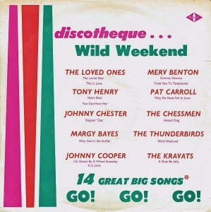 WG252675 - discoteque - Wild Weekend - Go Go Go front cover
