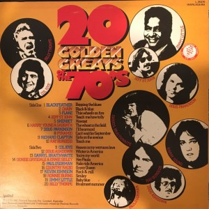 20 Golden Greats Of The 70sB - Festival -