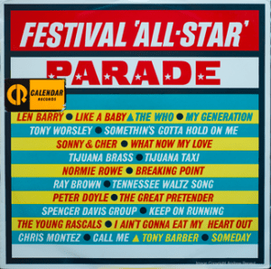 Festival - All Star Parade - R66156F - Front Cover