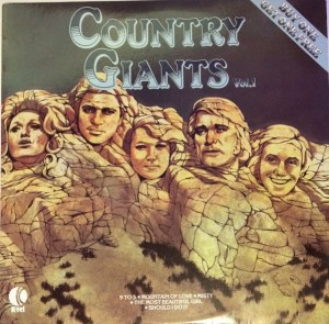 Ktel - Country Giants 1 - WA351 - Front cover