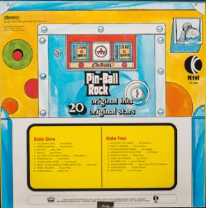 Ktel - Pinball Rock - NA484 - Back cover