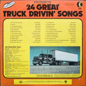Ktel - Truck Drivin Songs - NA497 - Back cover