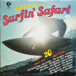 Ktel - Surfin Safari - NA502 - Front cover