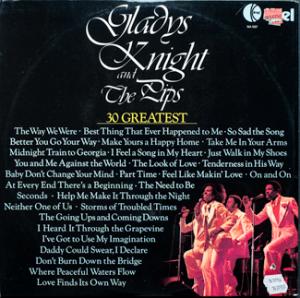 Ktel - Gladys Knight - NA507 - Back cover