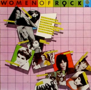 K-tel - NA 622 - Women of Rock - Front cover