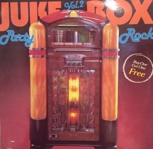 K-tel - NA629B - Juke Box Party rock - Front cover