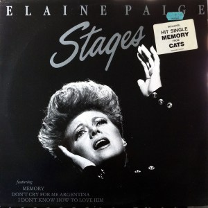 K-tel - NA680 - Stages - Elain Page - Front cover