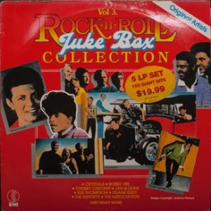 K-tel - NA684C - RocknRoll Juke Box - Front cover