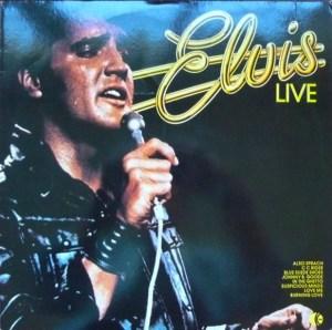 k-tel - NA585 - Elvis Presley - Elvis Live - Front cover