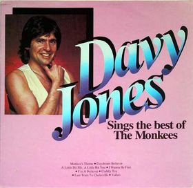 k-tel - NA587 - Davey Jones - Davey Jones sings the Monkeys - Front cover - temp
