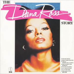K-tel - NA661 - The Diana Ross Story - Front Cover