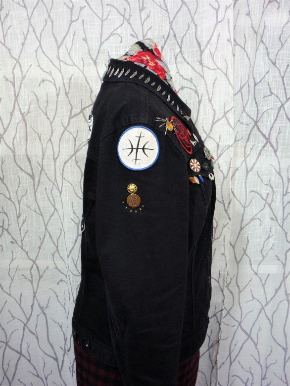 Jacket right arm
