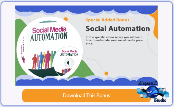 BONUS ADD ON #7 with VidToon video creation software Social Automation