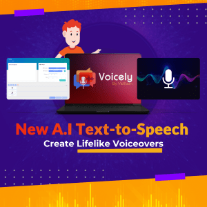 Voicely AI voice over software
