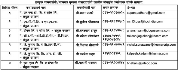 MMRC Contact