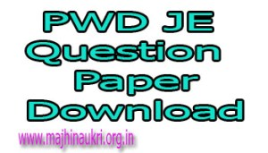 pwd je previous question papers