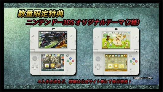 モンハンクロス 3DSオリジナルテーマ
