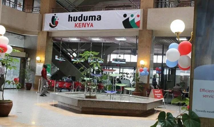 Huduma Centre in Kenya
