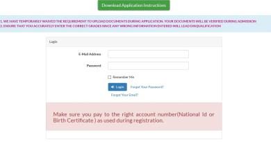 kmtc online application process