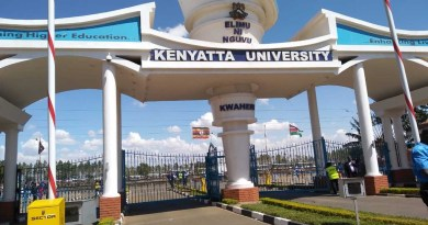 Kenyatta University fee structure and bank account