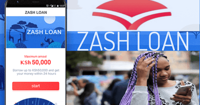 Zash Loan Paybill Number and Contacts