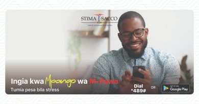 Stima SACCO Paybill Number