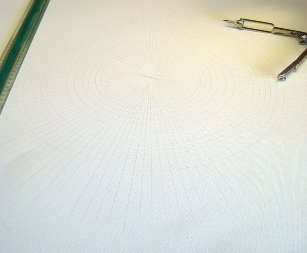 120 angles of 3º and about a dozen concentric circles