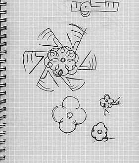 I wanted the dot of the ن to be the heart of the composition, and sketched along those lines.