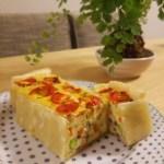 【ゆるマクロビレシピ】お豆腐キッシュ