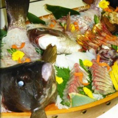 あいびす自慢の海鮮料理