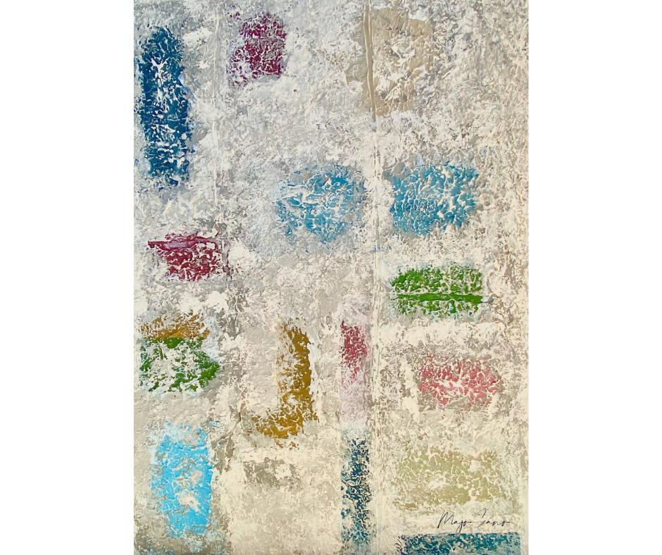 Efervescencia cuadros majocanoart pintura expresionismo abstracto