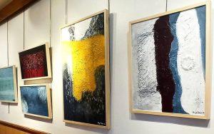 María José Cano   Expresionismo abstracto exposición de pintura wabi sabi en Granada