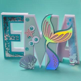 lettre 3D