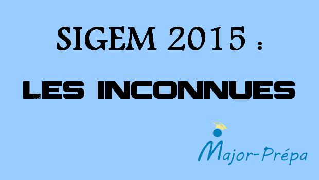 SIGEM 2015 : le grand chamboule-tout ?