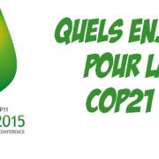 Focus – La COP21 : Quels enjeux ?