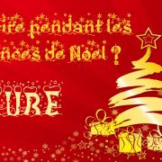 Que faire pendant les vacances de Noël ? – version cube