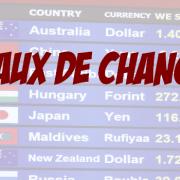 Les enjeux de la variation des taux de change