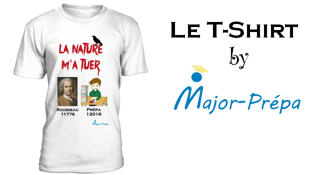 T-Shirt by Major-Prépa : La Nature M'a Tuer